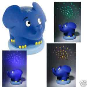 der blaue elefant nachtlicht sternenprojektor